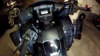INNOVV K1 Motorcycle Camera installed on Honda Gold Wing F6B 2013