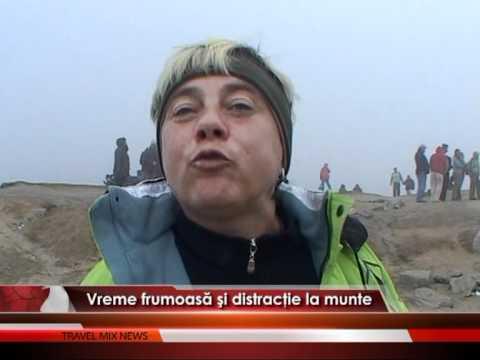 Vreme frumoasă şi distracţie la munte – VIDEO