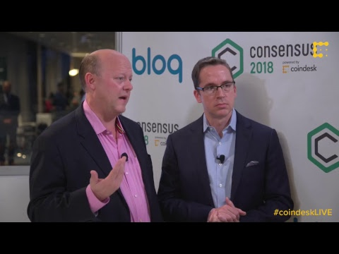 #CoinDeskLive from Consensus 2018 - Day 2 video