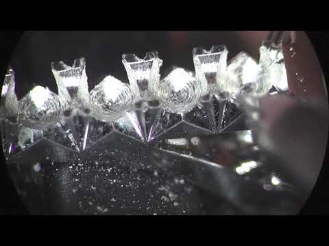 Optic Micro Diamond Setting- Fishtail Ring Pave Full Video