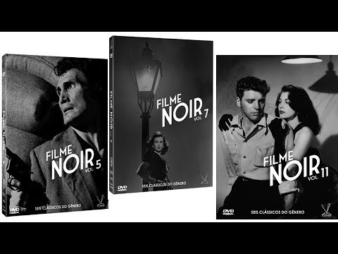 My Film Noir Collection 2018