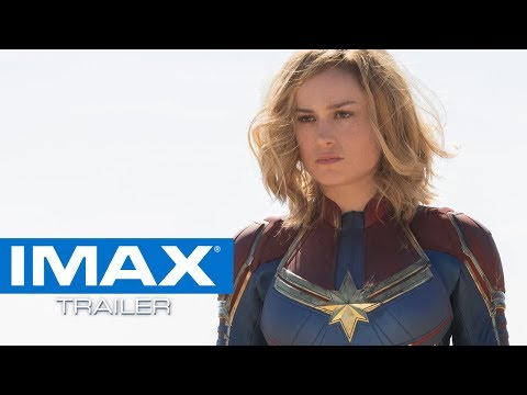 Captain Marvel IMAX® Trailer