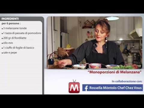 melanzane a monoporzioni - ricetta