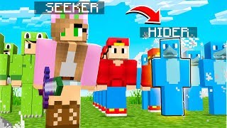The LITTLE CLUB custom HIDE AND SEEK *THE GANG IS BACK* Minecraft