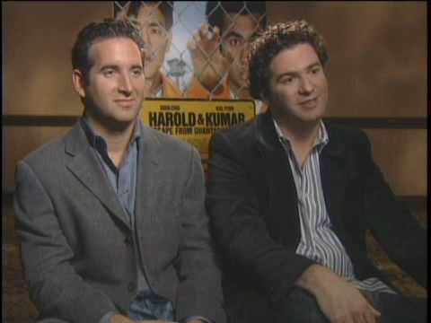 Hayden Schlossberg - We sit down with Jon Hurwitz and Hayden Schlossberg; the Directors and Writers of Harold and Kumar: Escape from Guantanamo Bay.