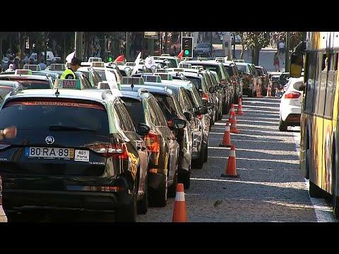 Πορτογαλία: Συνεχίζουν την απεργία κατά της Uber οι οδηγοί ταξί…