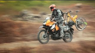 5. Bike on a Bike - Kawasaki KLR650 - MotoGeo Adventures
