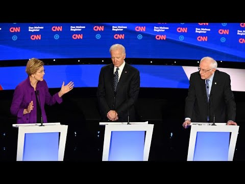 The top moments from January's Democratic debate in Iowa