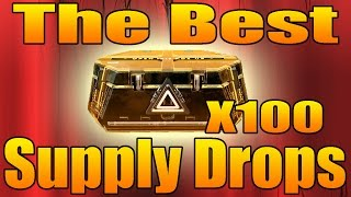Download Lagu The Best Advanced Supply Drop Opening Ever (Opening 100 Advanced Supply Drops - With Epic Reactions) Mp3