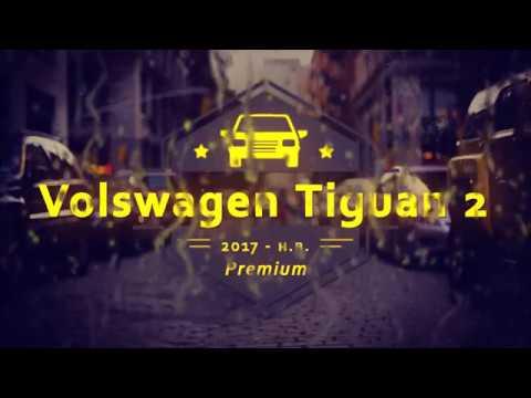 """Чехлы на Volkswagen Tiguan 2, серии """"Premium"""" - серая строчка"""