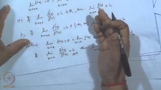 Mod-35 Lec-37 L'Hospital Rule And Taylor's Theorem