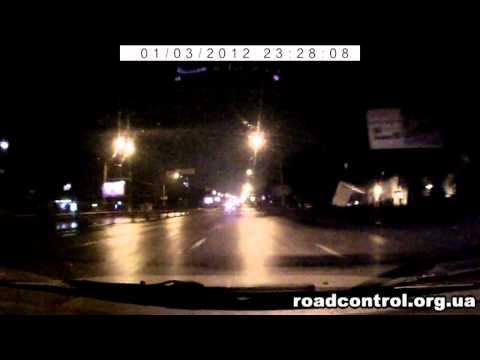 ГАИшники Киева дурагонят (03.01.12)