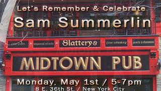 Sam Summerlin Celebration of Life May 2017