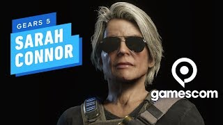 7 Minutes of Gears 5 Sarah Connor PC Gameplay at 4K 60fps - Gamescom 2019 by IGN