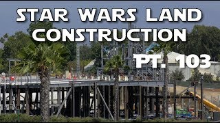 Galaxy's Edge Construction - Hello Star Wars Land imagineers! - Pt. 103  07-22-2017The Rivers of America are pretty much done, so we'll take a tour of how it looks from Tom Sawyer Island.  Then while at the top of the Mickey and Friends parking structure, we'll say hello to some fans.  You know...the imagineers who are building Star Wars Land and stuff.  Err...Galaxy's Edge .AND I WILL NEVER EVER EVER EVER NEVER GET A DRONE AND FLY IT OVER STAR WARS LAND OR ANY OTHER PART OF DISNEYLAND.  NEVER EVER.  STOP ASKING.Support us on Patreon: http://bit.ly/2mMJoQMFresh Baked Presents: http://bit.ly/2e7kh6jLady Romey: http://bit.ly/28Zk9U8Duke of Dork: http://bit.ly/29m1RMAFresh Baked Games: http://bit.ly/2nraPfZSpecial thanks to our Producers:Robert J. HoltzFind us also at:  Web: http://www.freshbakeddisney.comTwitter: @frshbakeddisneyFacebook: facebook.com/freshbakeddisneyInstagram: @FreshBakedDisney Google+: https://plus.google.com/u/0/b/1045443...Send us mail at PO Box 1519, Tustin, CA 92780Intro music courtesy of Kevin MacLeod and incompetech.com. All video is shot on location in HD at #Disneyland and Disney's California Adventure.Fresh Baked is the leading authority on how to have a good time at  Disneyland.  We provide weekly reports from the parks, special features about the secrets and history, news, top 10's and more!  Subscribe today to get the best of Disney baked fresh daily.