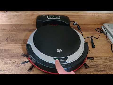 Test du Dirt Devil M611 - Peut-il concurrencer les aspirateurs robots iLife ?
