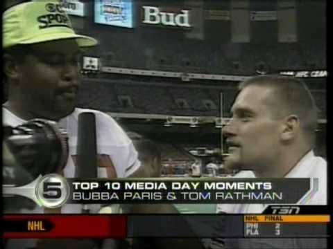 Super Bowl Media Day Top 10! (Monday Night is 2016 Media Night)