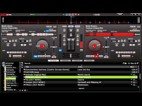 virtual - Goes over how to mix 2 songs, and how to drop one song to another buildup. Very basic and good for beginners. I run Traktor Pro 2 with Traktor S4, this is on...