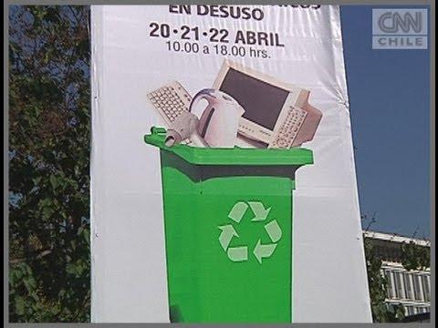 Providencia realiza actividad de reciclaje de