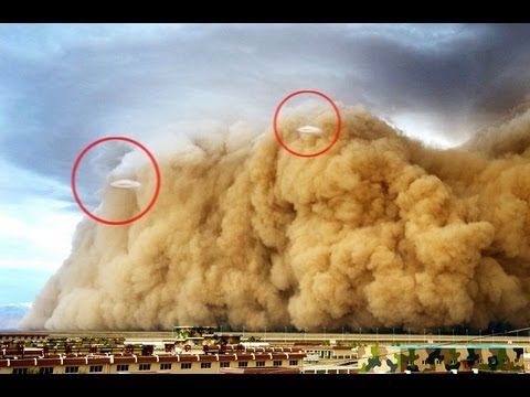 UFOs Fly Around China Sandstorm August 2, 2013 UFO Sightings[HD]