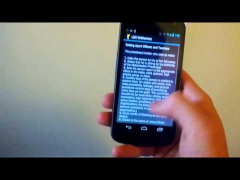 Video of LDS Ordinances