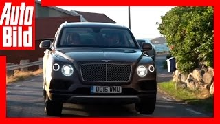 Video: Bentley Bentayga - Tour Etappe 5 - Videotagebuch / Test / Drive / Sommer / Norwegen/review by Auto Bild