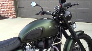 3. 2011 Triumph Scrambler with Arrow exhaust - take 2