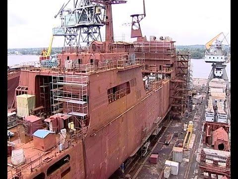 Строительство большого десантного корабля «Пётр Моргунов»