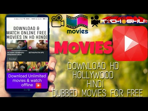 HOW TO Download HD HOLLYWOOD HINDI  Movies in ANDROID FOR free || TECH SHUN ||