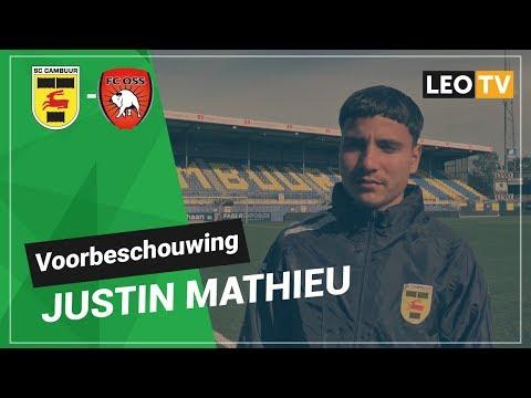 Mathieu blikt vooruit op thuiswedstrijd tegen FC Oss