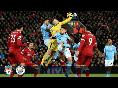 Liverpool Vs Manchester City - 4 : 3 EPL Highlights & Goals ( 14 January 2018 )