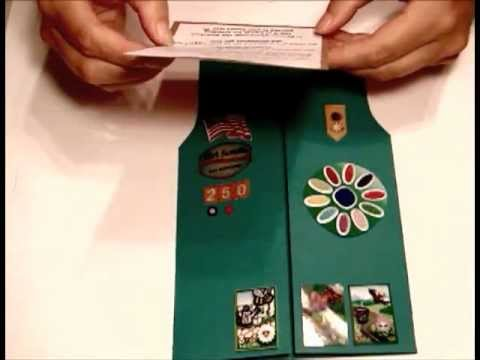 Girl Scouts - Daisy / Brownie Vest Invitations (2011 08 21-20)