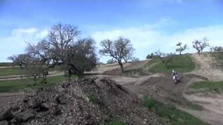 3. 2010 Zero MX Electric Motorcycle on a Track - Natural Sound