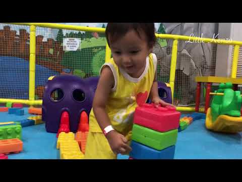 Kenzo Learn Colors in Playground | Belajar Warna Warni di Playground Lego Little Jungle