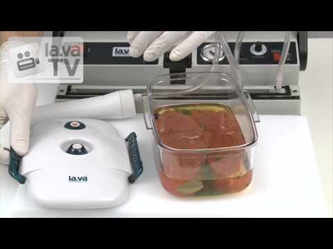 Superfast marinating with vacuum - the Video