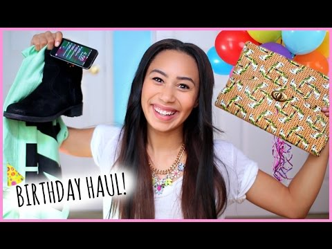 haul - Today Im showing you what I got for my Birthday! LETS GET THIS VIDEO TO 30000 LIKES! twitter: https://twitter.com/lifeaseva Groupon: http://bit.ly/1zcaWuX my tumblr: http://calibeautyteen.tumbl...