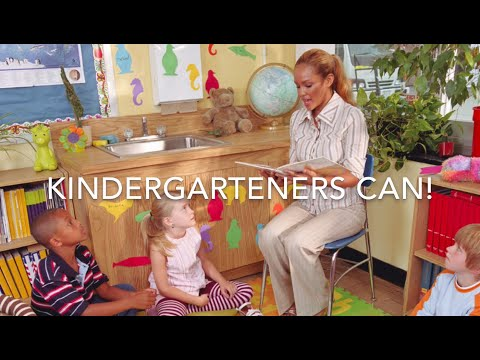 """Kindergarteners Can"" by Ms. Torres"