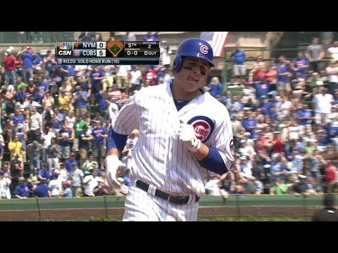 Video: NYM@CHC: Rizzo launches a solo jack to right