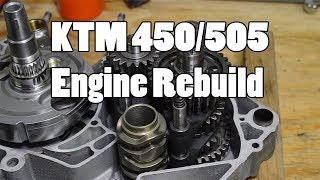9. How-To: KTM 450 505 SX-F Top & Bottom Engine Rebuild 2007-2012