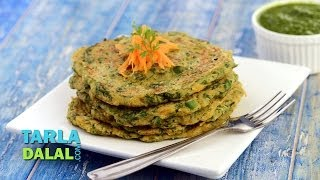 Vegetable Oats Pancake ( Fibre-rich Breakfast) by Tarla Dalal