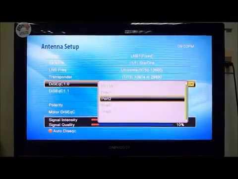 showbox SAT HD Tutorial de como atualizar