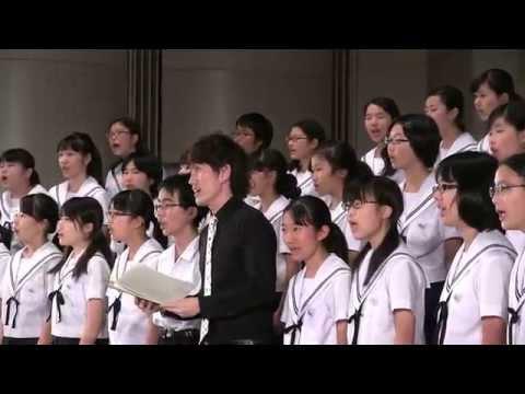 名古屋市立志賀中学校  「栄光の架橋」