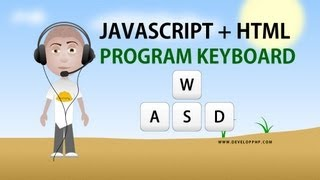 2. Javascript Capture Keyboard Input Tutorial HTML Application Programming