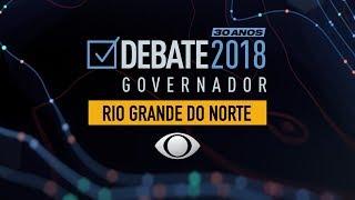 Debate para governo do Rio Grande do Norte