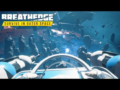 BREATHEDGE - Shipwrecked Survival in DEEP SPACE Crafting Base Building | END | Breathedge Gameplay