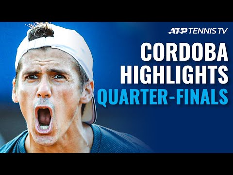 Schwartzman and Ramos Clash; Coria Meets Paire | Cordoba 2021 Quarter-Final Highlights