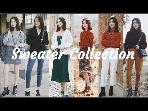 Sweater Collection | 最爱16件毛衣合集 | 秋冬毛衣搭配 | Acne OtherStories Everlane FreePe… видео