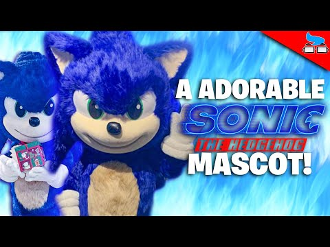 AN ADORABLE SONIC MOVIE Mascot! - Sonic Movie