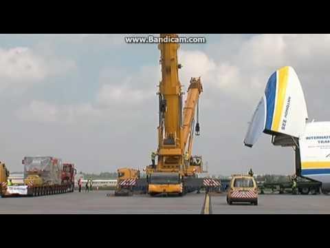 Видео загрузки «Мрии» в Пражском аэропорту - Центр транспортных стратегий