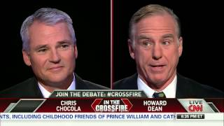 Crossfire: Governor Howard Dean and Chris Chocola discuss the Obamacare rollout (part1/3)